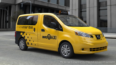 New York Taxis Say Goodbye Ford, Hello Nissan