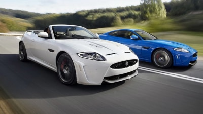 Jaguar XKR-S Convertible Revealed In LA