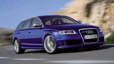 2008 Audi RS6 Avant at the Melbourne International Motor Show