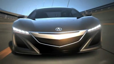 Honda NSX Concept Makes Digital Debut In Gran Turismo Clip
