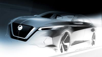 New Nissan Altima teased