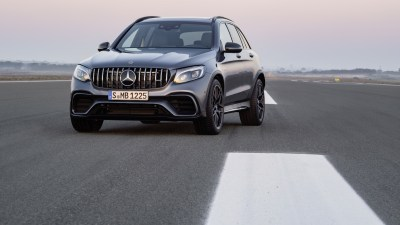 Mercedes-AMG Reveals GLC 63 Twins In Lead Up To New York Auto Show