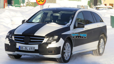 2011 Mercedes-Benz R-Class Spied Cold-Weather Testing