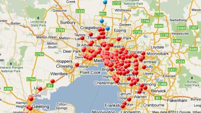 Victoria's Mobile Speed Camera Locations Now Public