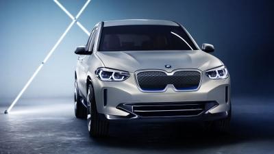 BMW reveals pure-electric Concept iX3