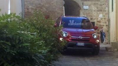 Fiat 500X Revealed Further In Spy Photos