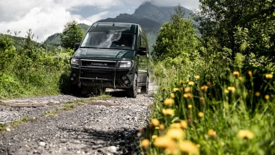 Torsus Terrastorm off-road bus revealed