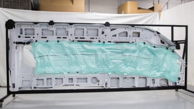 2015 Ford Transit To Feature Industry-First 'Five-Row' Passenger Side Airbag