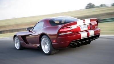 2008 Dodge SRT10 Viper manufacturing launch
