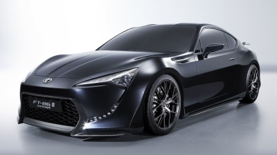 Toyota FT-86 II Locked In For Melbourne Motor Show