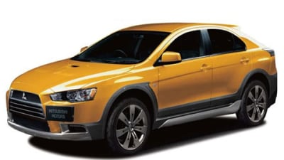 Mitsubishi Lancer Sportback-based CUV on the Way?