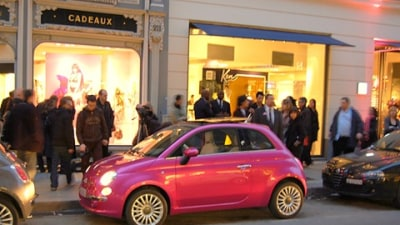Barbie's 50th Birthday And Her Special Fiat 500