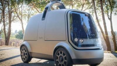 Autonomous Start-Up Nuro Shows Off Delivery Van