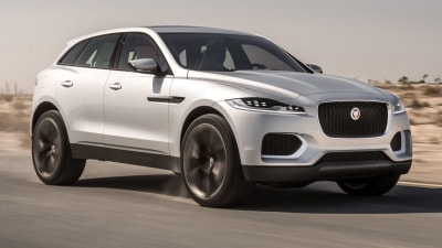 Jaguar C-X17 SUV Concept Revealed Further In New Silver Hue