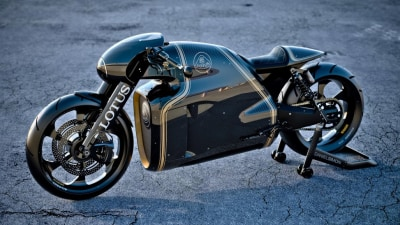 Lotus C-01 Motorbike Revealed: Official