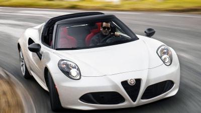 Alfa Romeo 4C Spider Makes Detroit Auto Show Debut