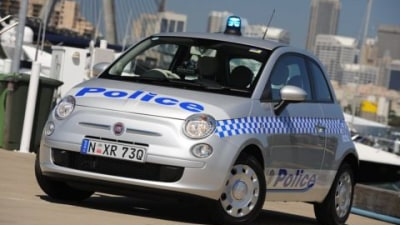 Fiat 500 JTD Enlisted By Sydney Police