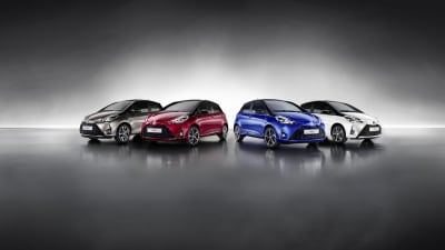 Updated 2017 Toyota Yaris Debuts In Europe
