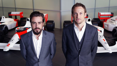 F1: Button Staying On With Alonso At McLaren Honda For 2015