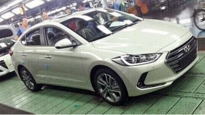 2016 Hyundai Elantra Spied Ahead Of Official Unveiling