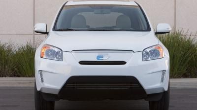 Toyota RAV4 EV Revealed, Powered By Tesla