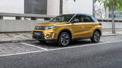 Updated Suzuki Vitara revealed