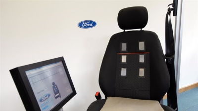 Ford Developing In-seat Heart Rate Monitor