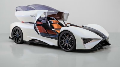Techrules Ren Diesel-Electric Supercar Set For Production From Next Year