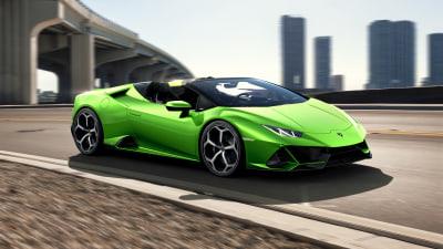 Lamborghini Huracan Evo Spyder unveiled