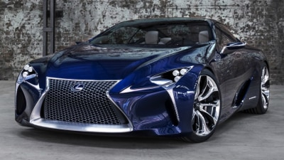 Lexus LF-LC Production Coupe Will Mirror Concept Styling: Report