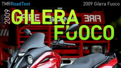 2009 Gilera Fuoco Road Test Review