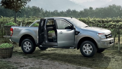 2012 Ford Ranger Revealed In Super Cab And Single Cab Form