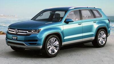 Volkswagen Seven-Seat SUV Previewed In Detroit