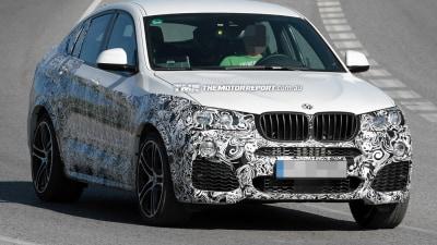2016 BMW X4 M Performance SUV Spied Testing