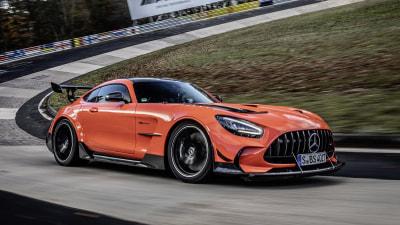 2021 Mercedes-AMG GT Black Series breaks Nurburgring production lap record
