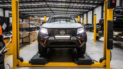 Nissan Navara Warrior back in production