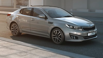 Kia Optima T-Hybrid: Diesel-Electric Sedan Revealed