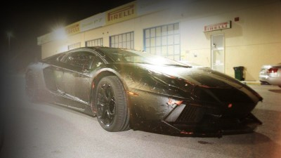 Lamborghini Aventador Revealed In Light Camouflage