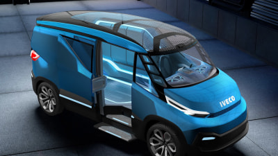 Iveco Vision Concept Hints At The LCV Of The Future
