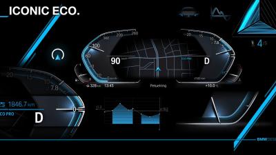 BMW reveals new digital cockpit