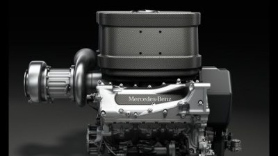 F1: Mercedes AMG Teases V6 Engine, Red Bull Confirms Alonso Talks