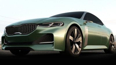 Kia Preparing To Offer RWD Sports Sedan - Report
