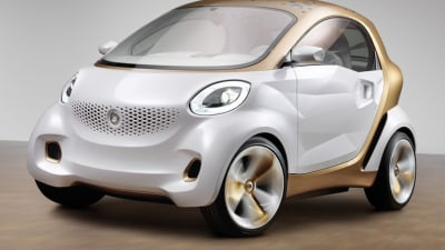 Smart Forvision Concept Hints At Upcoming Next-gen Fortwo City Car
