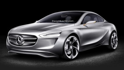 Mercedes-Benz A-Class Coupe Rendered, Aimed Square At Audi's TT