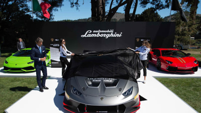 Lamborghini Huracán LP 620-2 Super Trofeo Racer Revealed