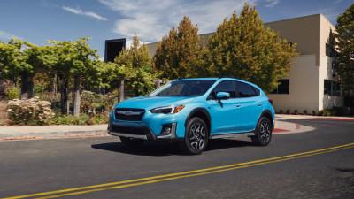 Subaru adds plug-in hybrid model