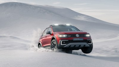 Volkswagen Tiguan GTE Active Concept Shows Tiguan's Rugged Side At Detroit