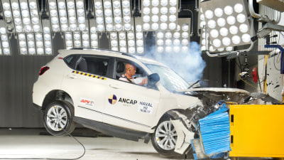 Chinese brands score 5-star crash ratings