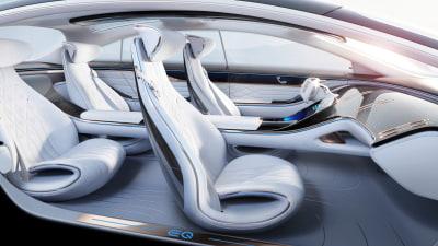 Mercedes-Benz EQ Concept interior revealed