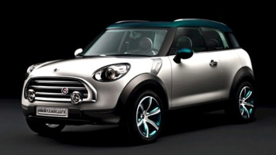 MINI Crossover Concept to Make Paris Debut